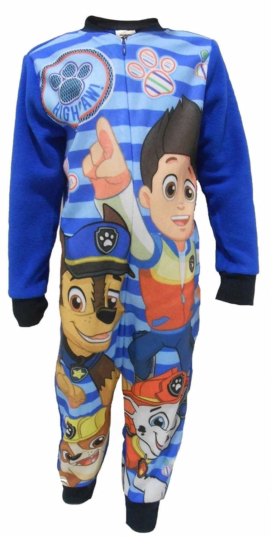 Marshall and Chase Fleece Pajama Sleeper Nick Jr Paw Patrol Boys 2-3 Years Ryder