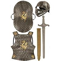 Child's Medieval Knight Armour Set - Helmet, Sword