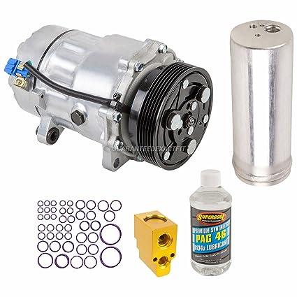 Amazon.com: AC Compressor w/A/C Repair Kit For VW Golf & Audi TT Quattro TT - BuyAutoParts 60-80107RK New: Automotive