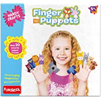 Funskool Handycrafts Finger Puppets, Multi Color