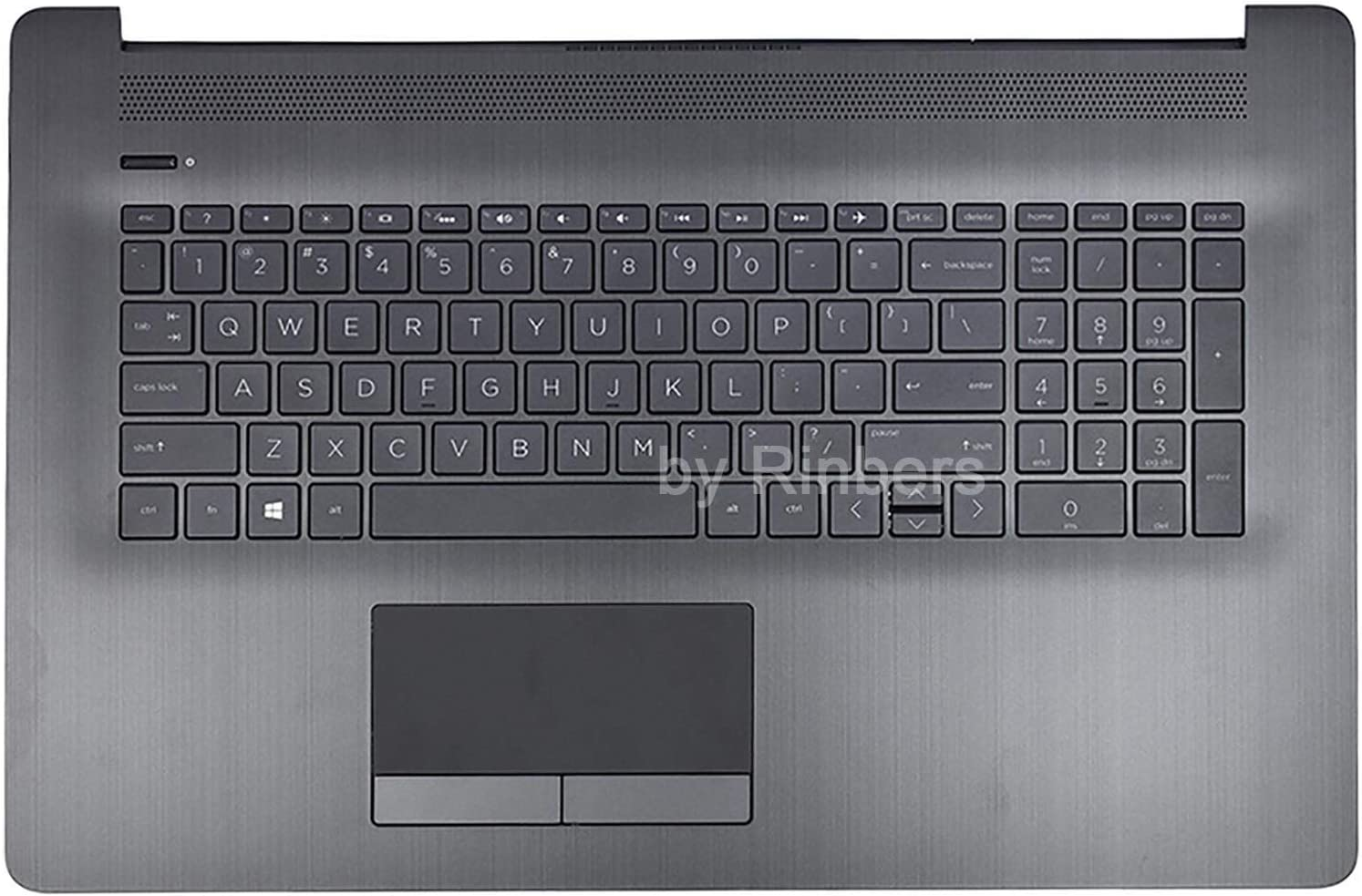 Textured,with Touch pad and Power Button Board,N5030 PC Parts Unlimited 6P8X2 Palmrest