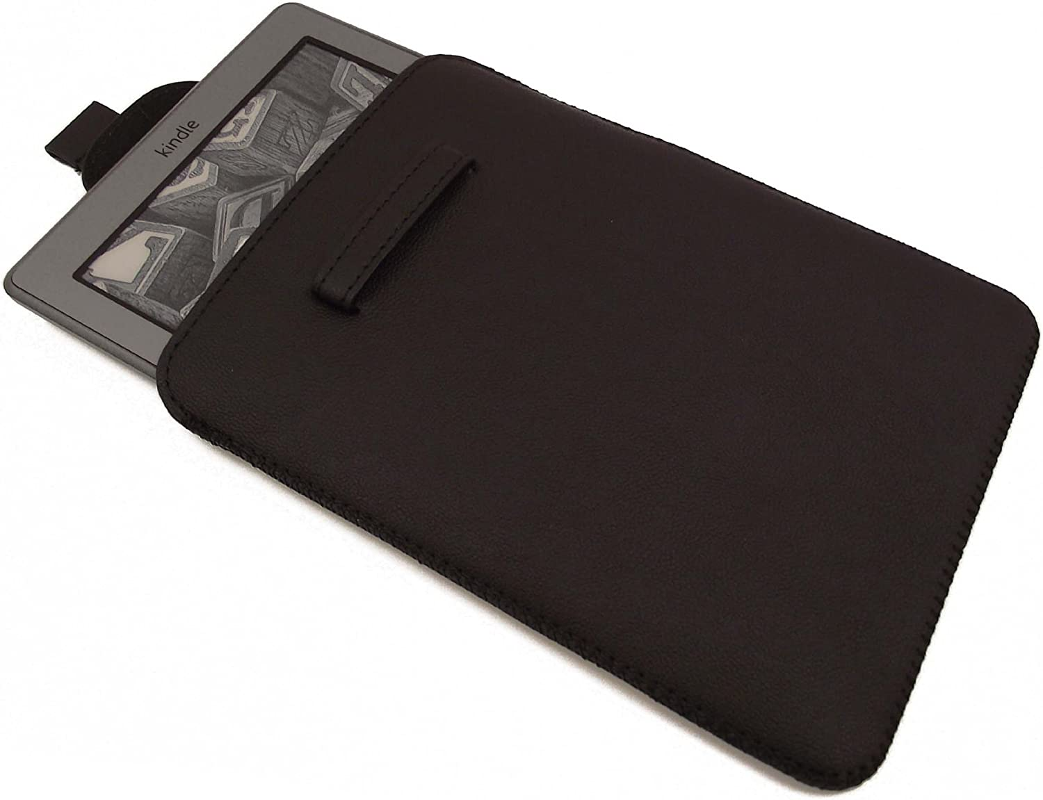 ORZLY Slip Pouch Case for Amazon KINDLE - BLACK Tablet Sleeve Style Cover Pouch from Orzly designed specifically for use with the 6 inch Amazon Kindle 4 e-Reader