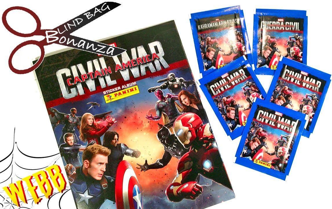 Panini Marvel Capitán América Guerra Civil Starter Pack – Álbum y ...