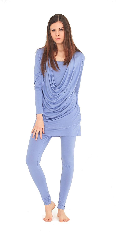 b4977251c6828 Womens Tracksuits Lounge Suits Scoop Neck Ladies Plain Leggings Loungewear  Tracksuits Tops Bottoms(S M 8 10