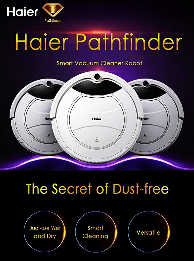 Haier SWR Pathfinder Robot aspirador Independiente limpiador ...
