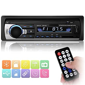 Hifi-geräte Auto Mp3 1 Din Radio Player Stereo Autoradio Multimedia-player Auto Audio Bluetooth Fm Aux Fernbedienung Freisprecheinrichtung Anrufe Usb Sd Ohne RüCkgabe Hifi-player