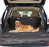 Car Boot Mats, Zellar Universal Waterproof 2 in 1 Boot Liner Rear Car Back Seat Protector Pet Dog Cat Cover Mat