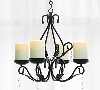 GiveU 3 IN 1 Lighting Chandelier Metal Wall Sconce Set of 2 Table Centerpiece  sc 1 st  Amazon.com & Amazon.com: GiveU 3 IN 1 Lighting Chandelier Metal Wall Sconce Set ...