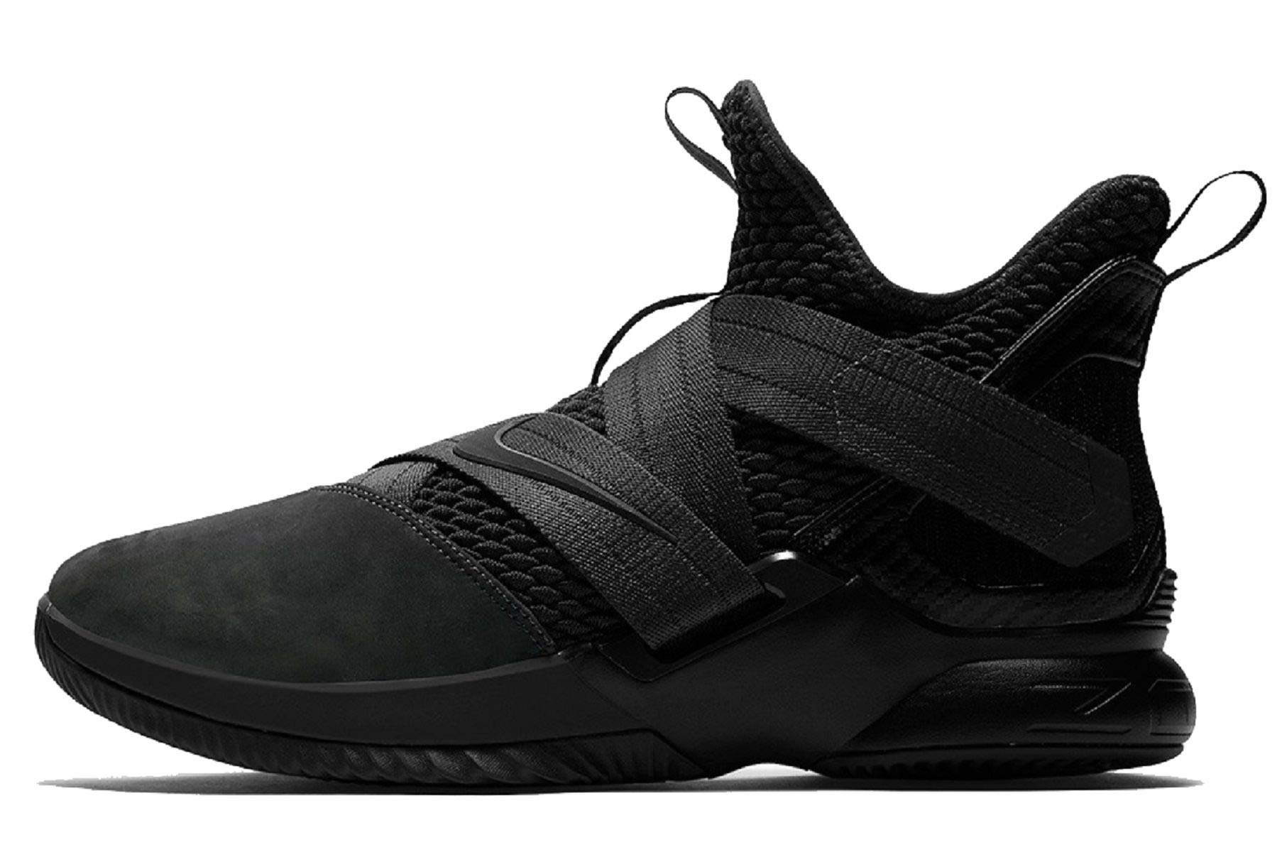8c16c64e50ca Galleon - NIKE Lebron Soldier XII SFG Mens Basketball-Shoes AO4054-003 9 -  Black Black-Black