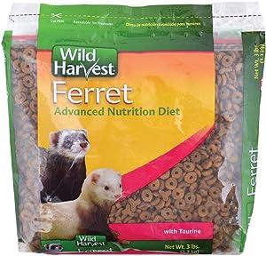 Wild Harvest Advanced Nutrition Diet For Ferrets, 3-Pound