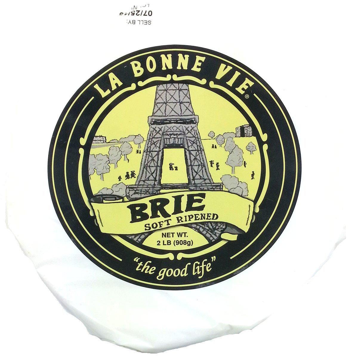 La Bonne Vie, Brie Cheese, 2 pounds (2 pack)