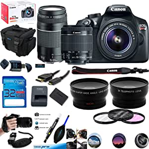 Deal-Expo Canon EOS Rebel T6 Kit de cámara réflex Digital con ...