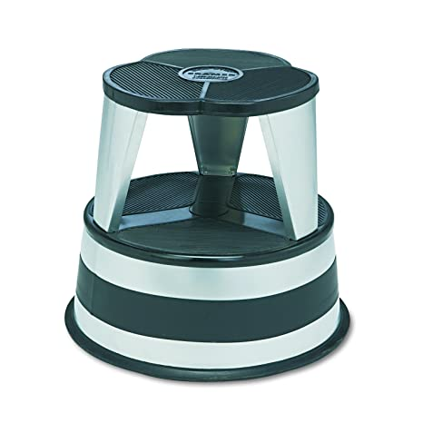 Outstanding Cramer 1001 01 Kik Rolling Step Stool Silvertone Customarchery Wood Chair Design Ideas Customarcherynet