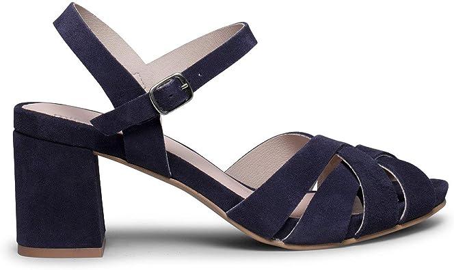 Zapatos miMaO. Zapatos Piel Mujer Hechos EN ESPAÑA. Sandalia de ...