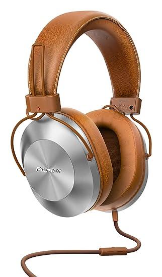 Pioneer SE-MS5T-T - Auriculares de tipo diadema (HiRes, power bass, micrófono, control de Smartphone), colo Marrón: Amazon.es: Electrónica