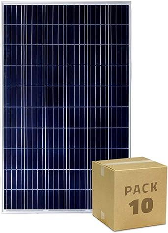 Pack Panel Solar Fotovoltaico Policristalino 320W Clase A (10 un ...
