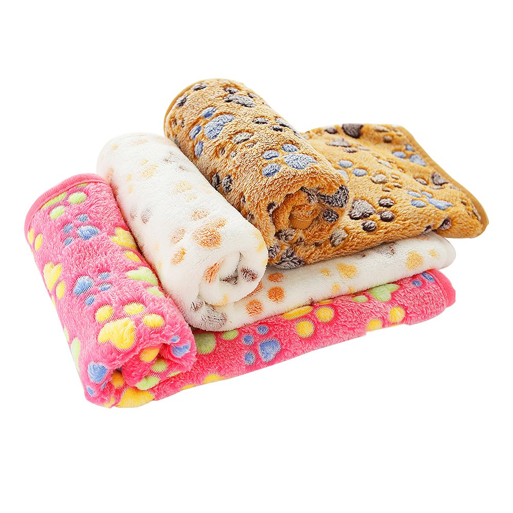 PET SPPTIES Pet Blanket for Small Cats & Dogs Sleep Mat Warm Bed Mat Soft, Warm,comfortable 3pcs/pack PS016 (104cmx76cm)
