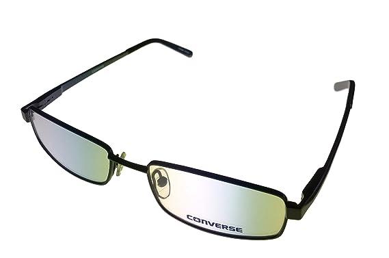 66f73df9e33f07 CONVERSE Monture lunettes de vue RAIL Noir Gris 51MM  Amazon.fr ...