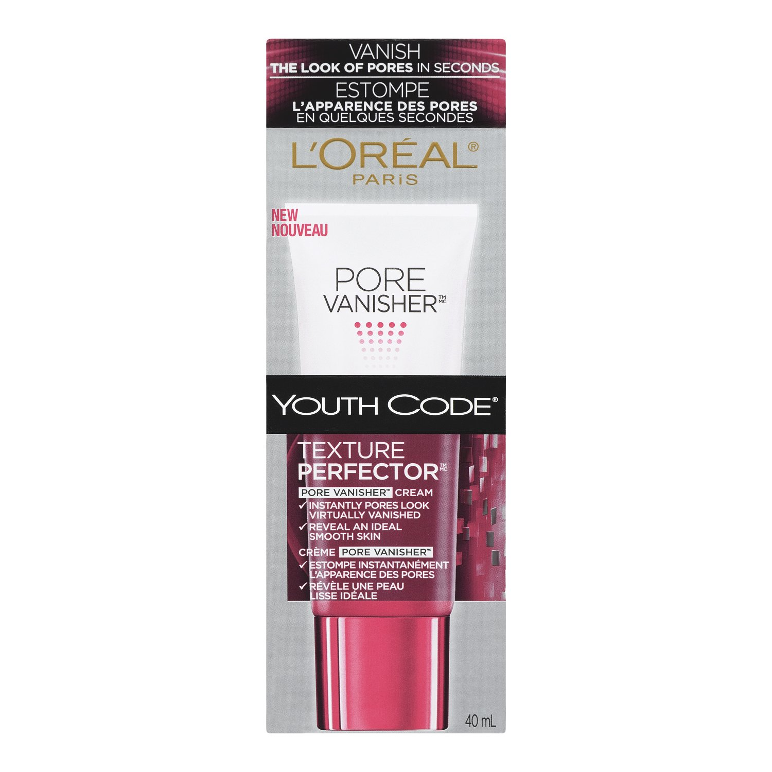 L'Oreal Paris Youth Code Texture Perfector Pore Vanisher Facial Cream