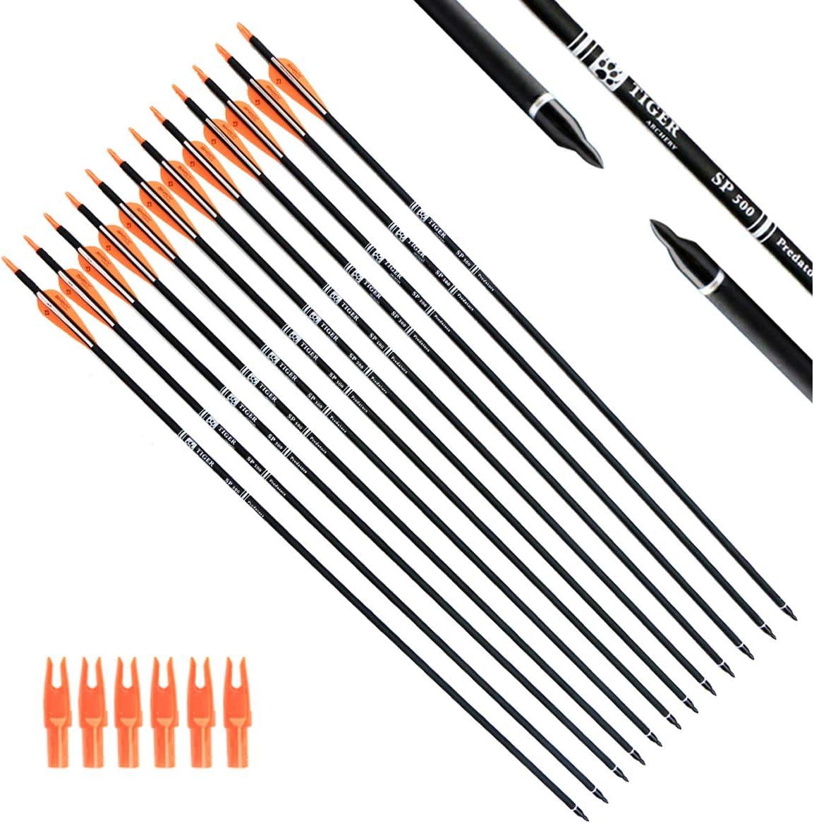 Best Archery Arrows: Tiger Archery 30Inch Carbon