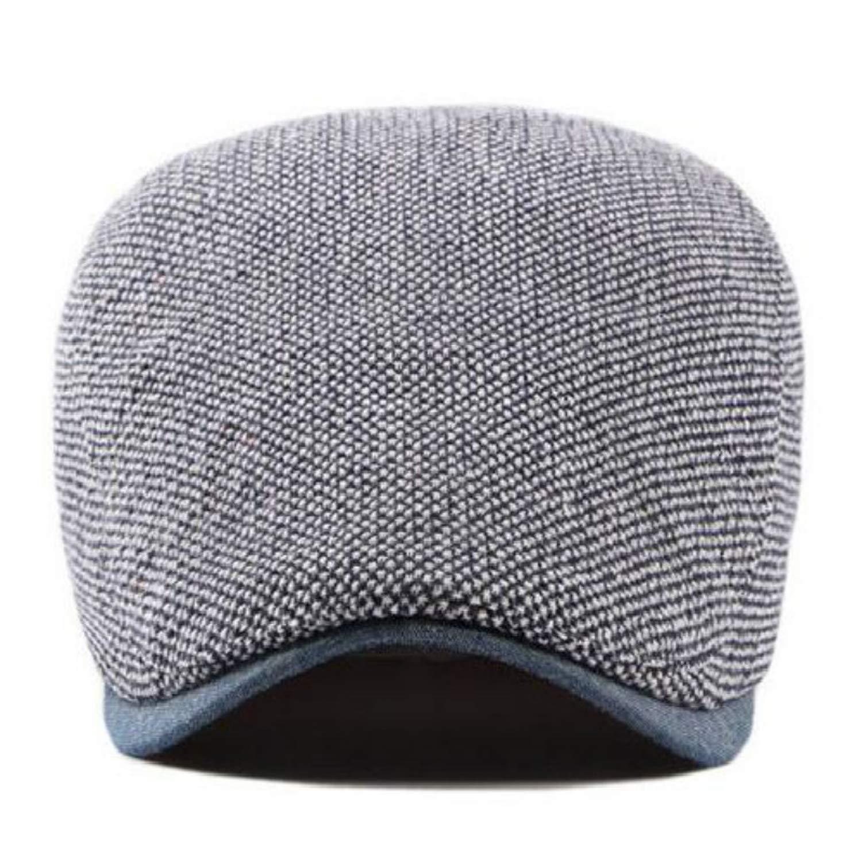 Fashion Men Beret Mixed Color Casual Male Flat Cap Cotton Breathable Newsboy hat Outdoor Sun Bone