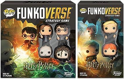 Amazon Com Funko Pop Funkoverse Harry Potter Strategy Game