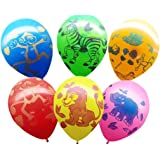 Partypropz Jungle Theme Latex Balloon (Set Of 25)
