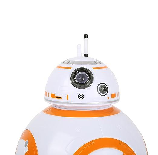Joy Toy Star Wars - Reloj Despertador Digital con LCD y proyección BB-8: Amazon.es: Hogar