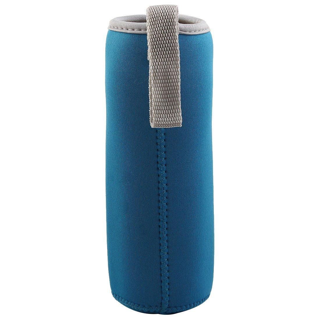 Amazon.com: eDealMax Spandex Inicio aislamiento térmico protector anti escalda Manos taza de cristal taza azul de la manga: Kitchen & Dining