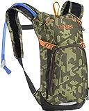 CamelBak 儿童迷你 M.u.l.e. 饮用背包,900个迷彩/多色,50盎司(约50毫升)