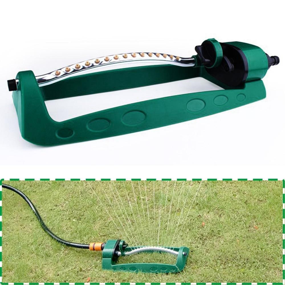 KOBWA Garden Sprinkler - Adjustable Oscillating Design Reliable Motor Even Waterflow Max Coverage 200m²