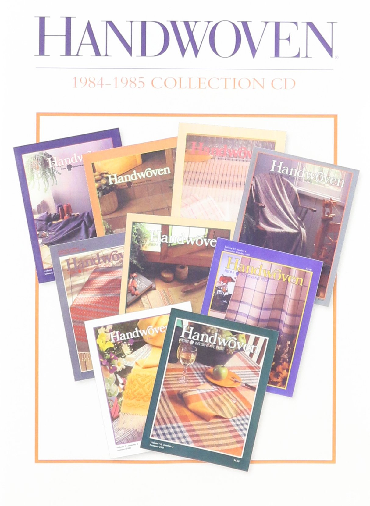 Handwoven 1984-1985 Collection Cd