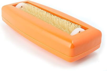 cepillo de miga Crumpy papel de miga mesa papel escoba Alfombra Cepillo barrendero aspiradora mano Cepillos Cepillo Coche Caravana aspiradora Rapido naranja: Amazon.es: Hogar
