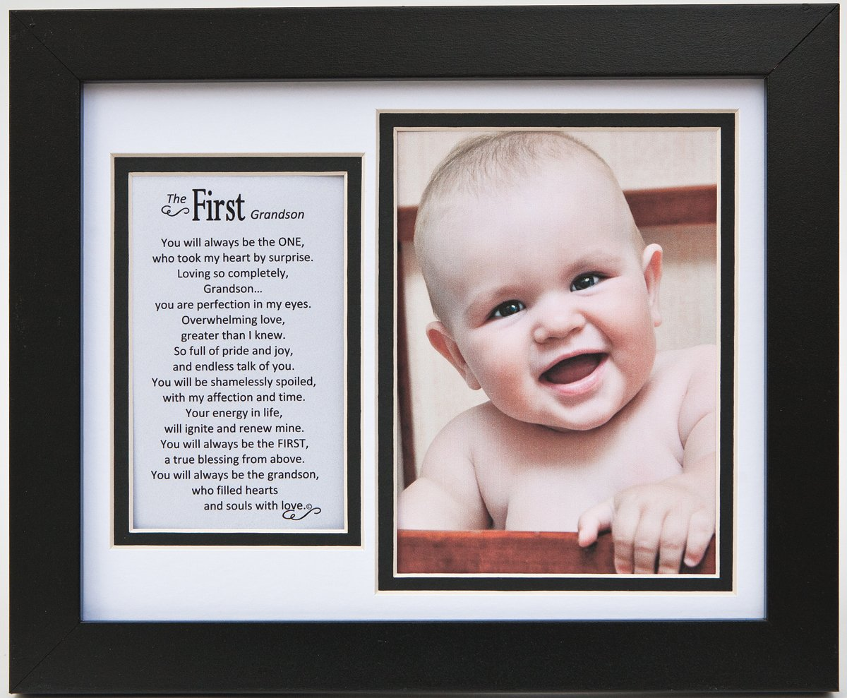 The Grandparent Gift Frame Wall Decor, First Grandson The Grandparent Gift Co. 1131B