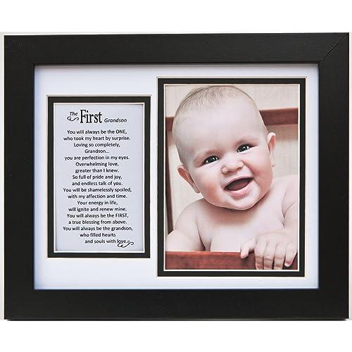 The Grandparent Gift Frame Wall Decor First Grandson