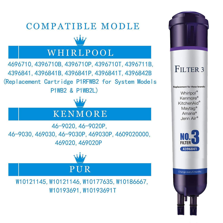 Water Filter 3 Filter 469083 469030 Water Filter Replacement WF2 2 ...