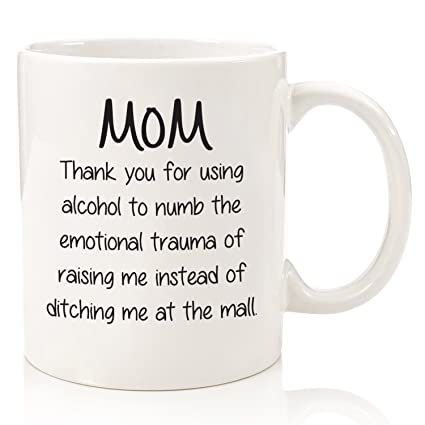 Amazon thank you for using alcohol funny coffee mug best thank you for using alcohol funny coffee mug best birthday gifts for mom unique negle Images
