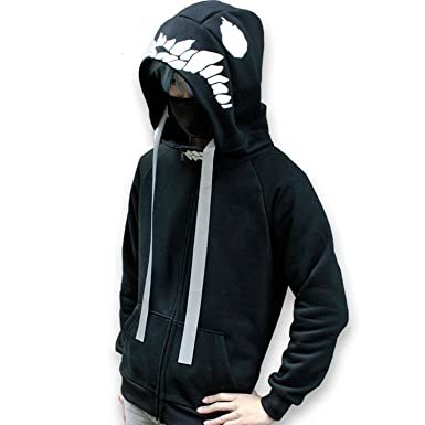 Amazon.com: Anime Kantai Collection Cosplay Costume Zip Up Hoodie ...
