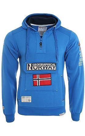 G. NORWAY SUDADERA GYMCLASS Hombre Color ROYAL talla: Medium: Amazon.es: Ropa y accesorios