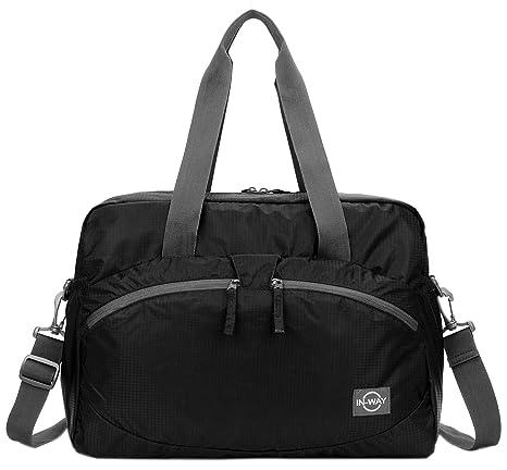 e98b9fab31 Amazon.com  Forestfish Women s Lightweight Gym Tote Bag Waterproof ...