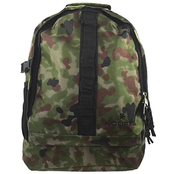 d0cae58357f5 Camouflage Backpack Student Bookbag Military Camo Daypack Army Travel Bag  College School Bag