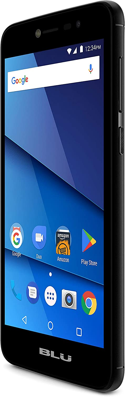 "BLU S750P Black Studio Pro X8 HD - 5.0"" HD Smartphone with Dual Main Cameras, 8GB +1GB RAM, Black"