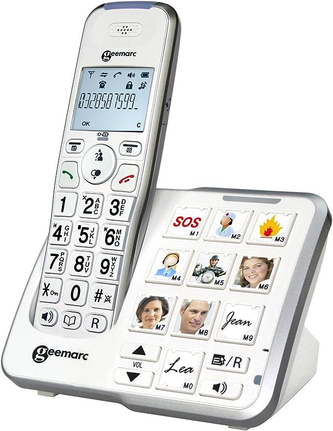 Geemarc AmpliDect 295 Photo - Comprar Teléfonos Analógicos: Amazon.es: Electrónica