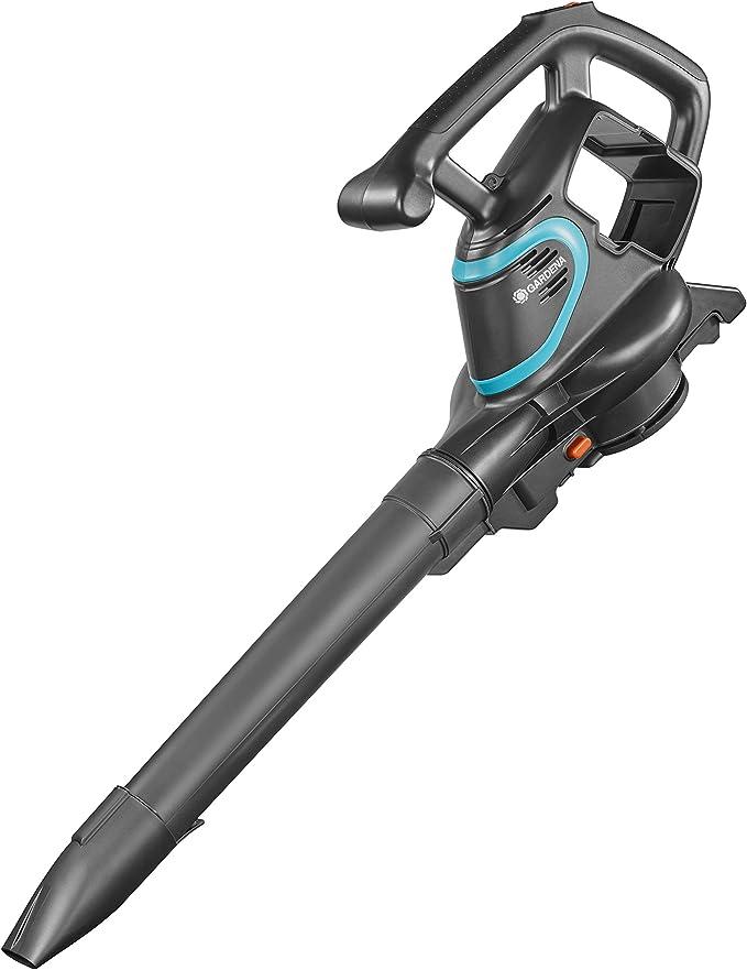 Gardena 9338-55 Aspirador/Soplador de hojas, motor de 40 V, potencia de aspiración 160 l/s, incl. correa, se vende sin batería ni cargador: Amazon.es: Bricolaje y herramientas