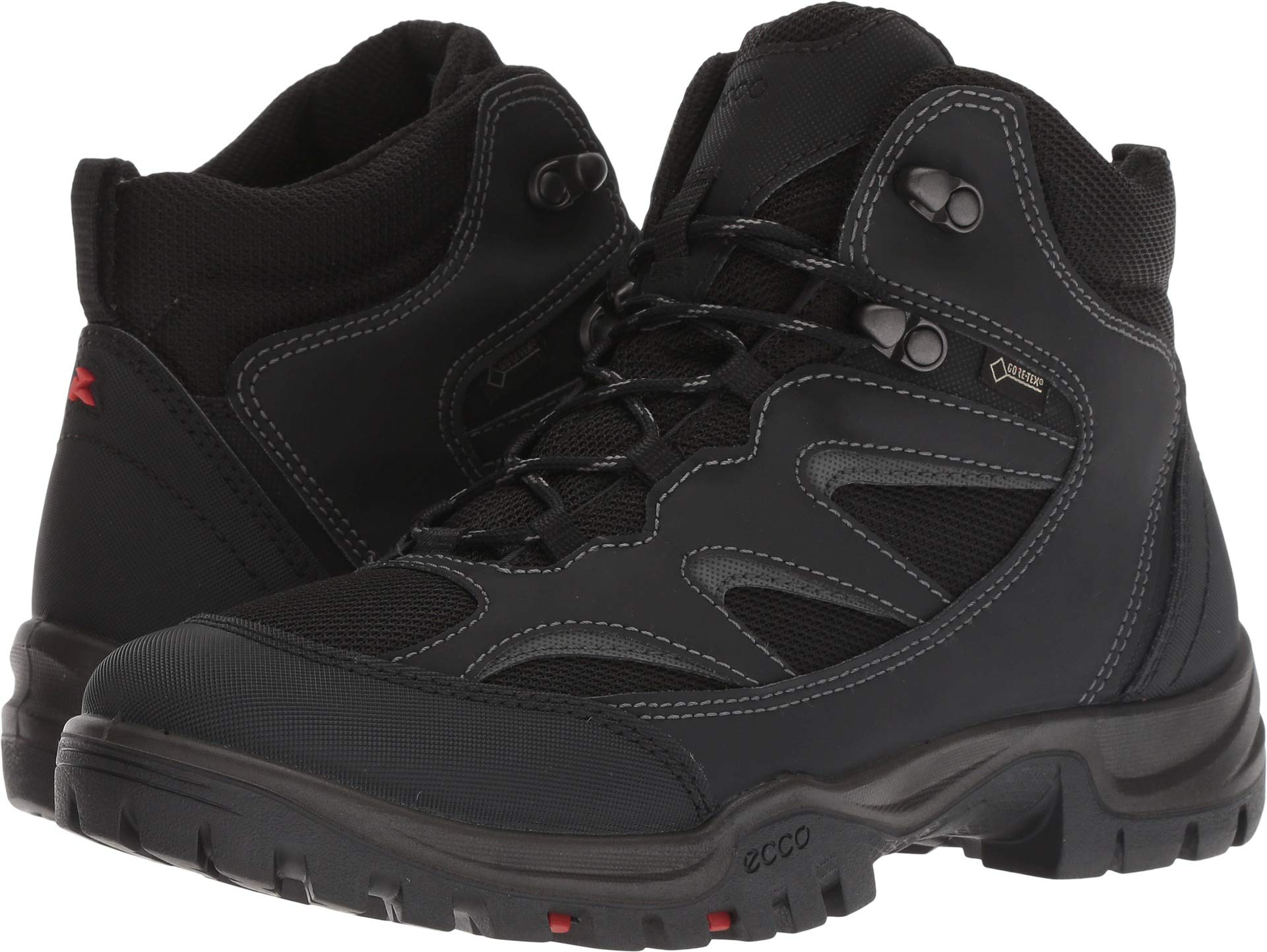 ECCO Women's Xpedition III Gore-TEX High Backpacking Boot, Black, 40 M EU (9-9.5 US) by ECCO