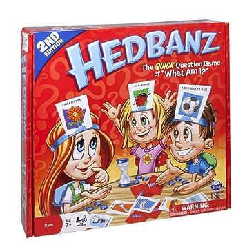crayfomo Game-Guess HedBanz qué es lo Que Soy/Paquete de Fiesta de Juego de Cartas para Niños Amigos y Familias (la Palabra en la Tarjeta es Solo ...