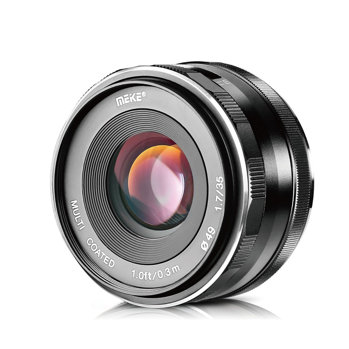 Meike 35mm f/1.7 Large Aperture Manual Focus APS-C Lens for Fujifilm X Mount Mirrorless Camera X-T3 X-H1 X-Pro2 X-E3 X-T1 X-T2 X-T10 X-T20 X-A2 X-E2 X-E2s X-E1 X30 X70 X-M1 X-A1 XPro1,etc by Meike