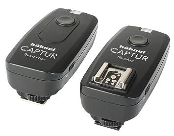 Hähnel Captur radiocámara-Disparador a Distancia, emisor y Receptor para cámaras Fuji