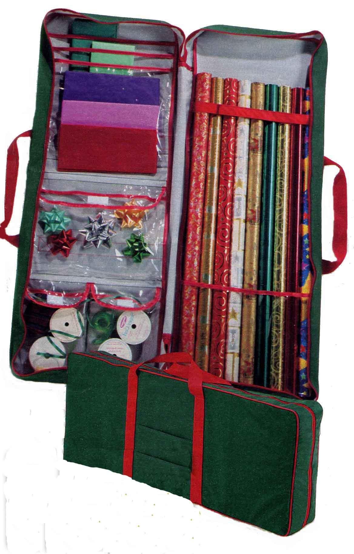 Master Craft Gift Wrap Storage Bag, Green by Master Craft