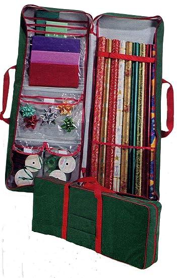 Amazon.com: Master Craft Gift Wrap Storage Bag, Green: Home & Kitchen
